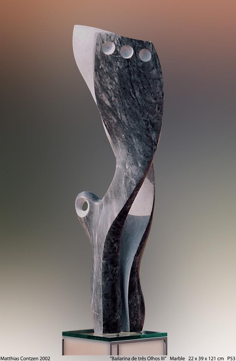 2002 Bailarina de três Olhos III P53